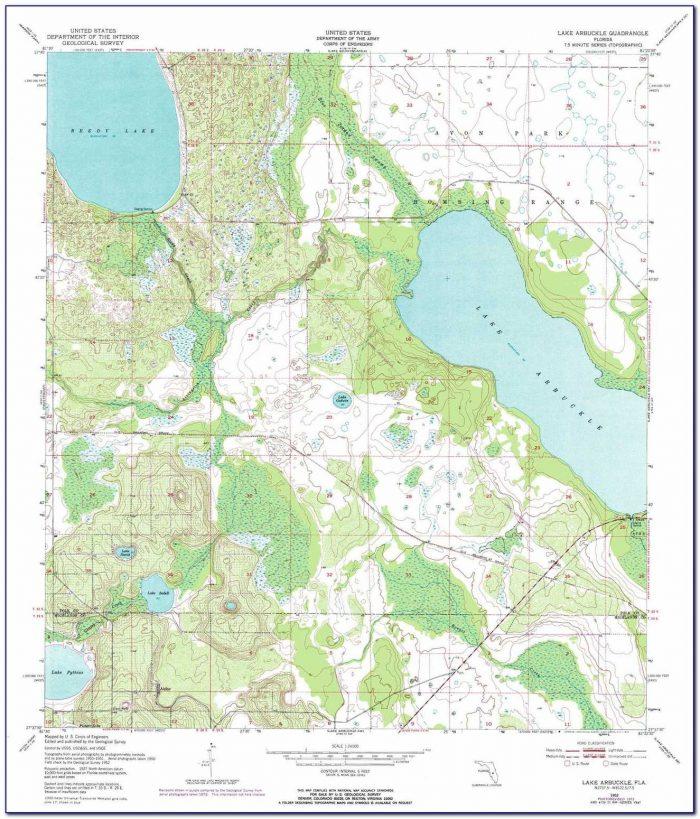 Topo Lake Maps Wisconsin