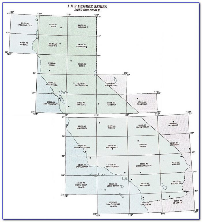 Topo Map Of Lake County California