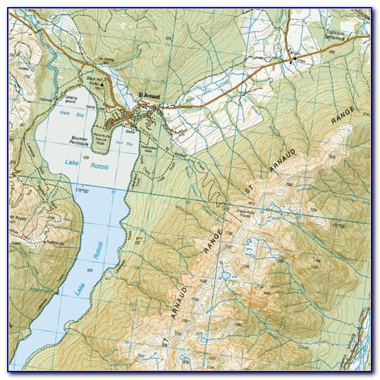 Topo Maps Nz Garmin