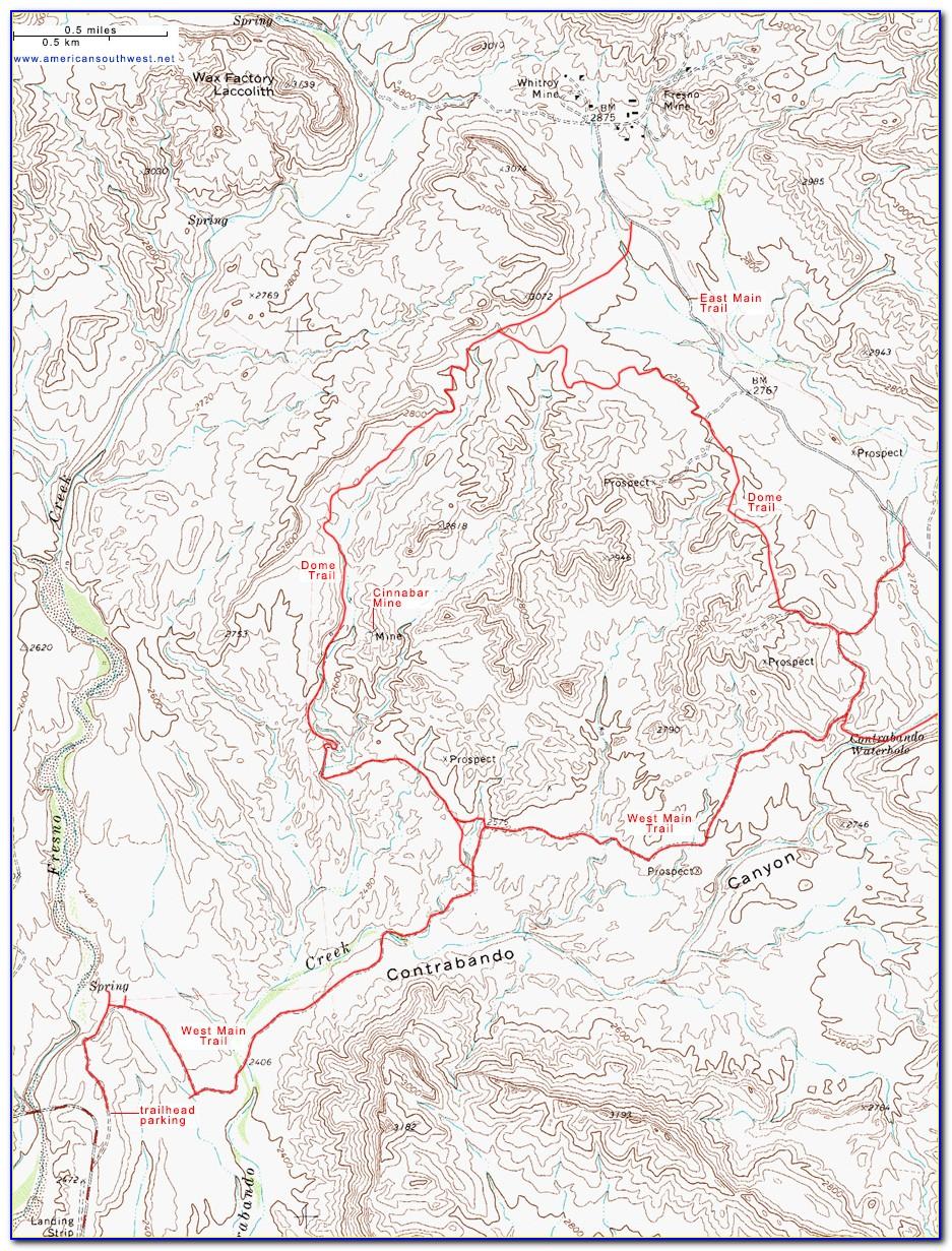 Topographic Map Of Beaverton Oregon