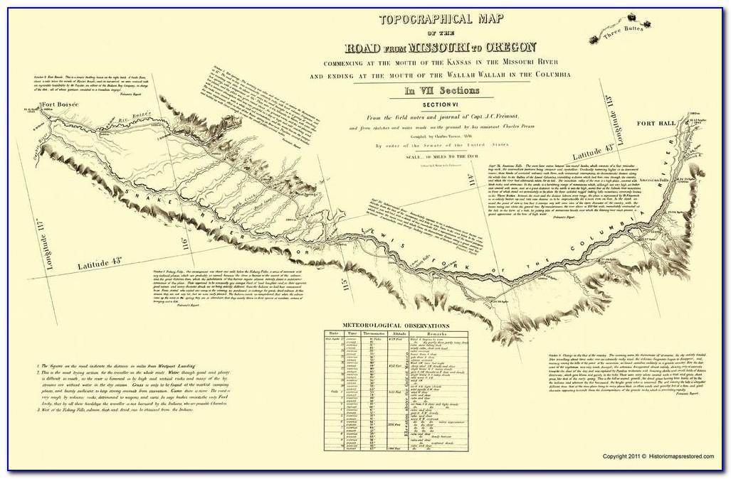 Topographic Map Of Eugene Oregon