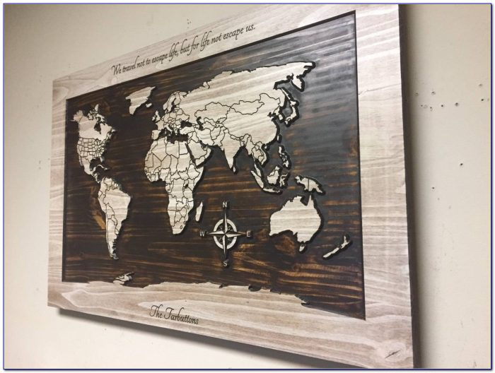 Fascinating Wall Ideas Fantasy Map Of United Metal United States In Best And Newest United States Map Wall Art