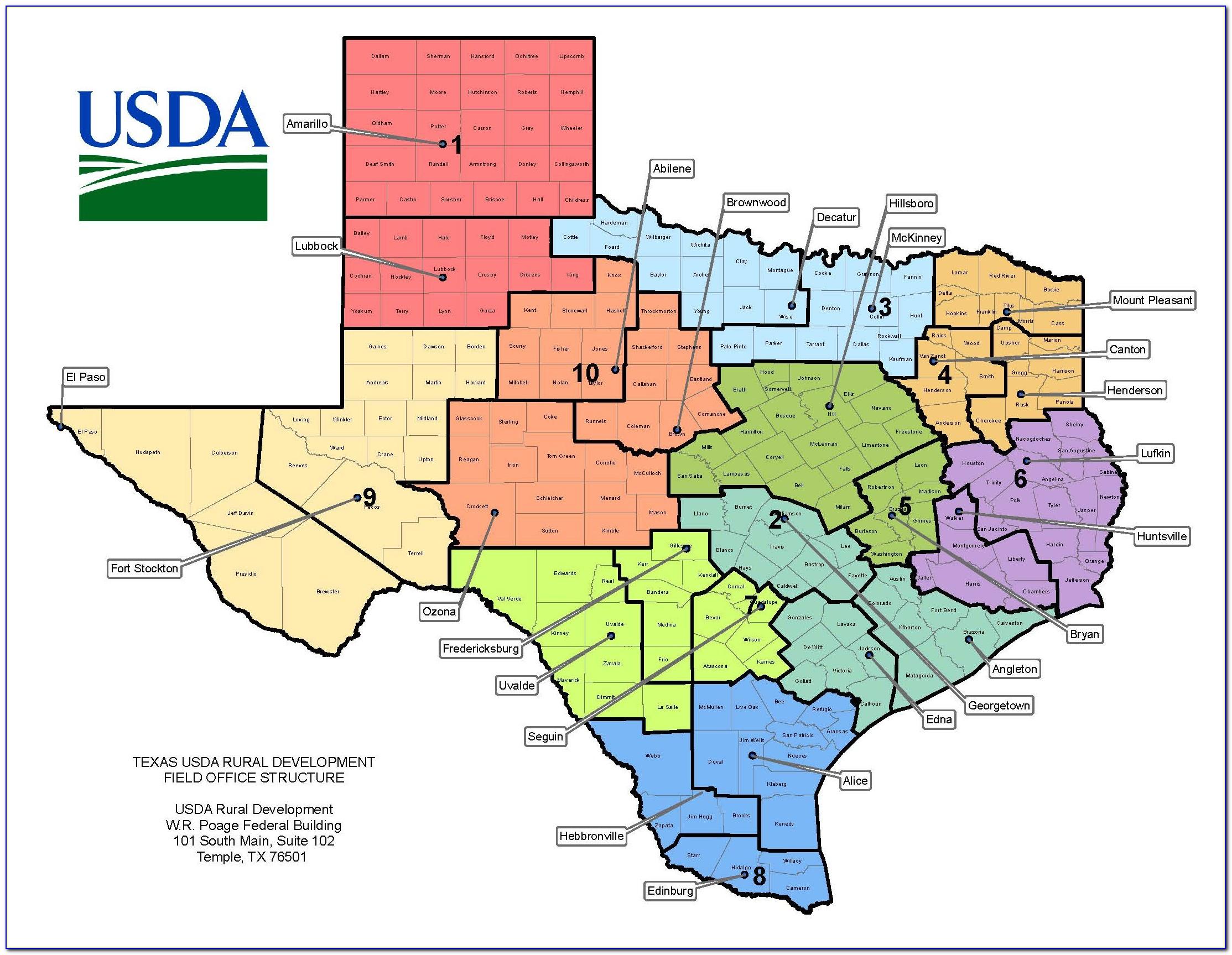Usda Home Loan Map Florida