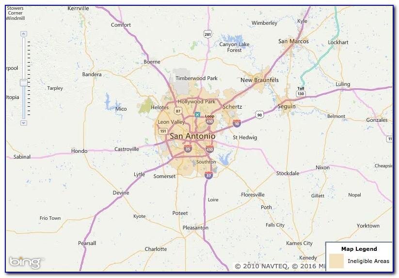 Usda Loan Zones Texas