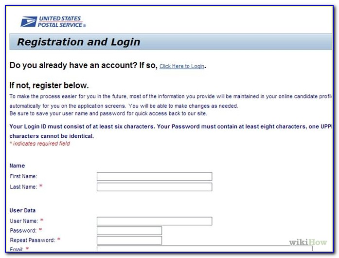 Usps Jobs Application Entry