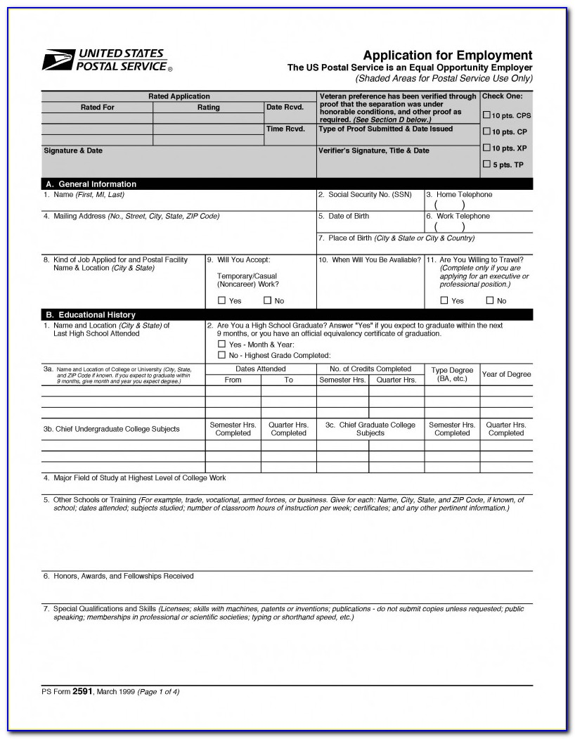 Usps Jobs Application Status