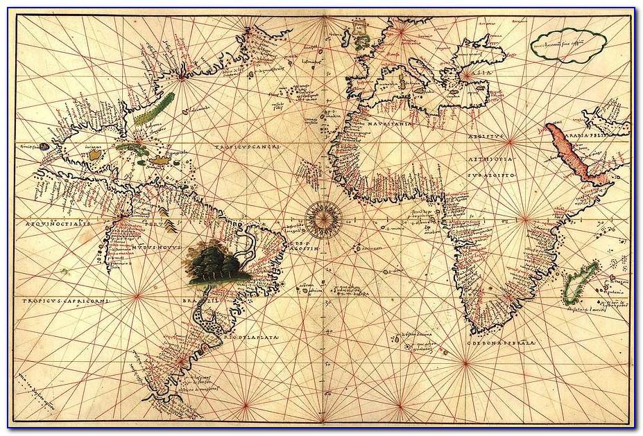 Vintage Nautical Maps Puget Sound
