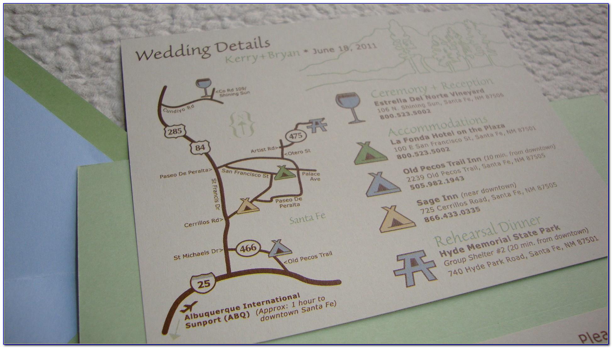 Wedding Invitation Map Creator