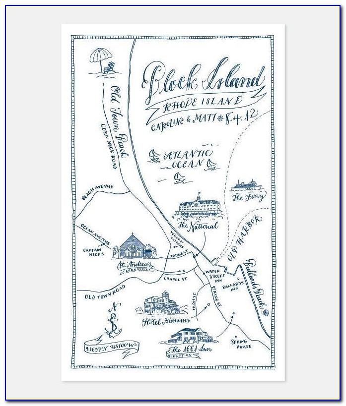 Wedding Invitation Map Directions