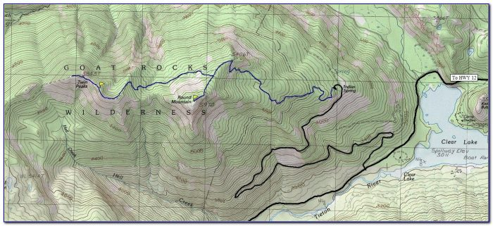 White Mountains Trail Map Online