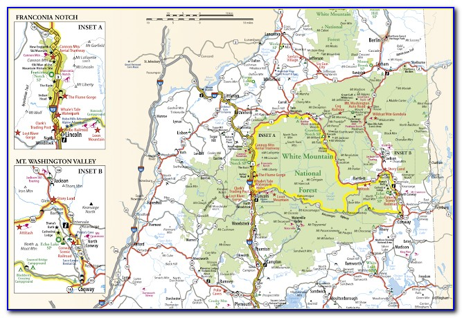 White Mountains Trail Map Pdf