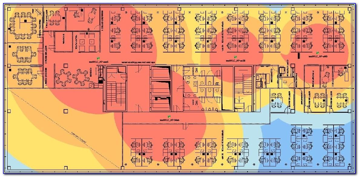 Wireless Network Heat Map Software