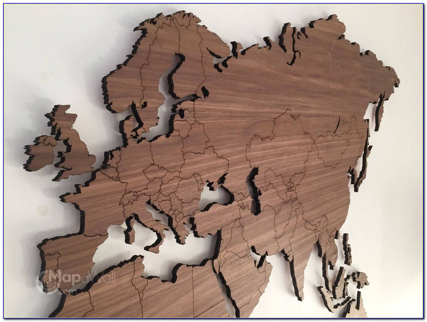 Carved Wooden World Map Wood Wall Art Home Decor At Besttabletfor Throughout Most Current Wooden World Map Wall Art