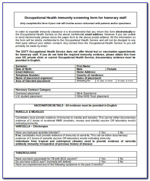 Workplace Health And Safety Forms Qld