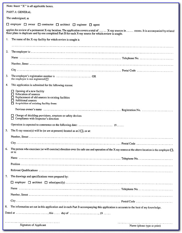 Workplace Health And Safety Forms