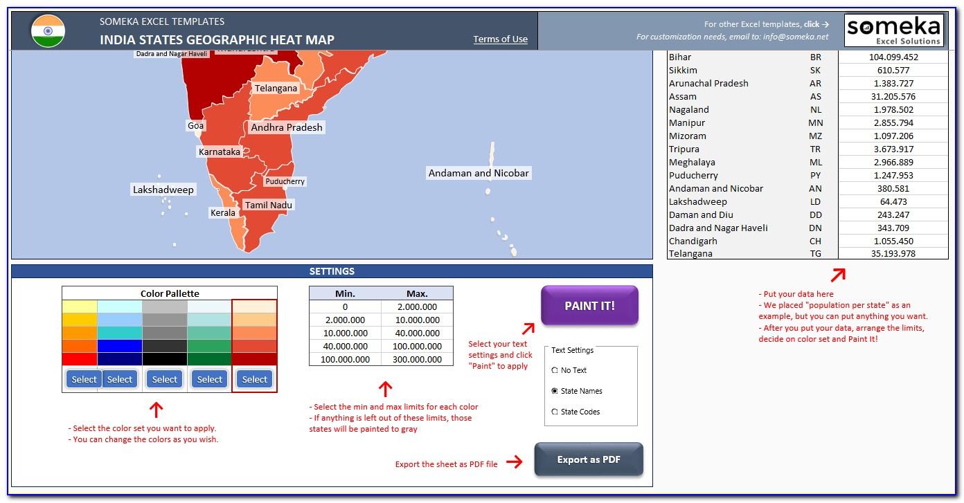 World Heat Map Creator