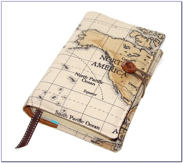 World Map Book Cover