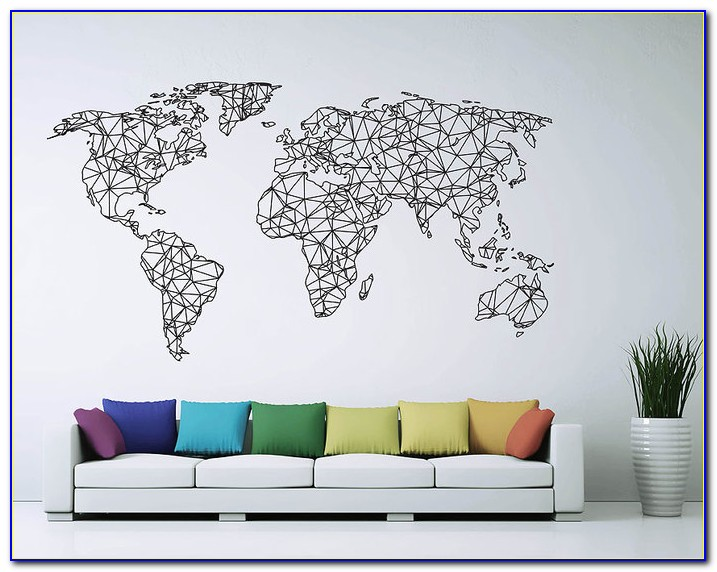 World Map Murals Australia