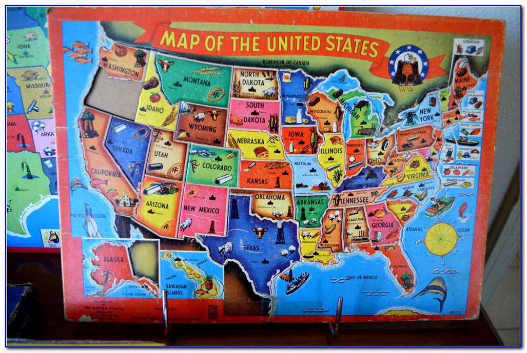 World Map Puzzle Games