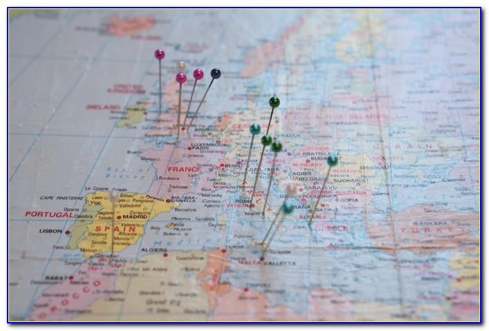 World Travel Map Pin Board Online