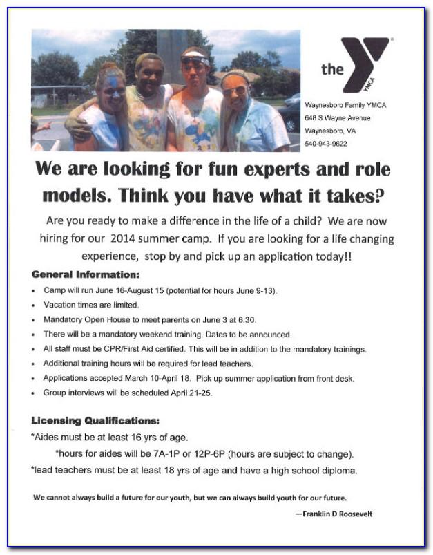 Ymca Job Application Status