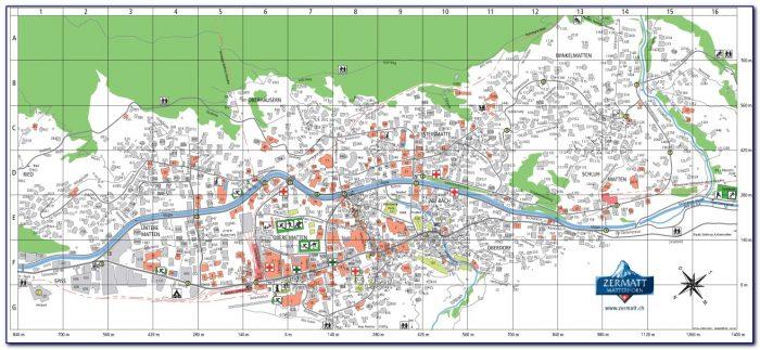 Zermatt Hotels Map