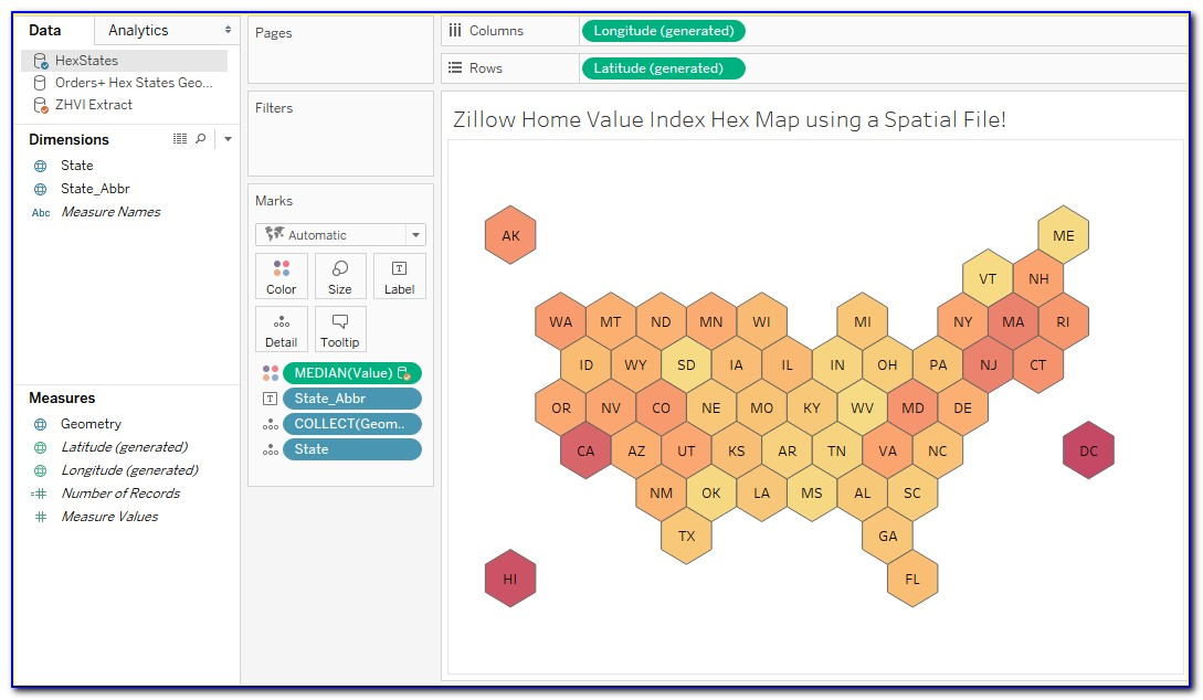 Zillow Home Value Estimate Map
