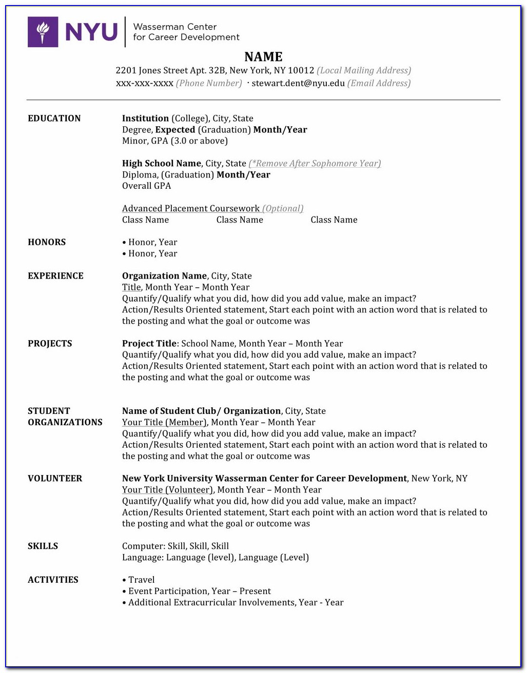 100 Free Resume Builder No Payment Required