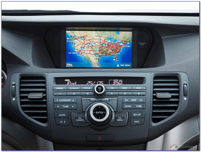2012 Acura Navigation System Map Update