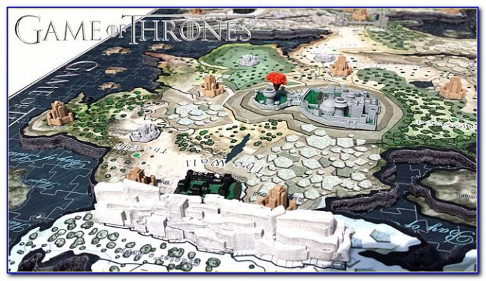 3d Map Of Westeros Puzzle