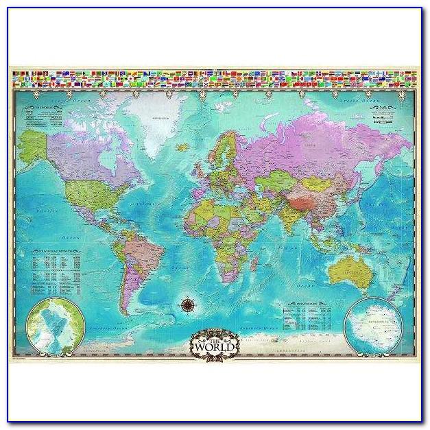 500 Piece Jigsaw Puzzle World Map