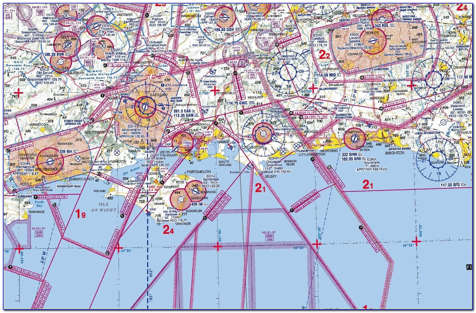 Airport Maps For Pilots