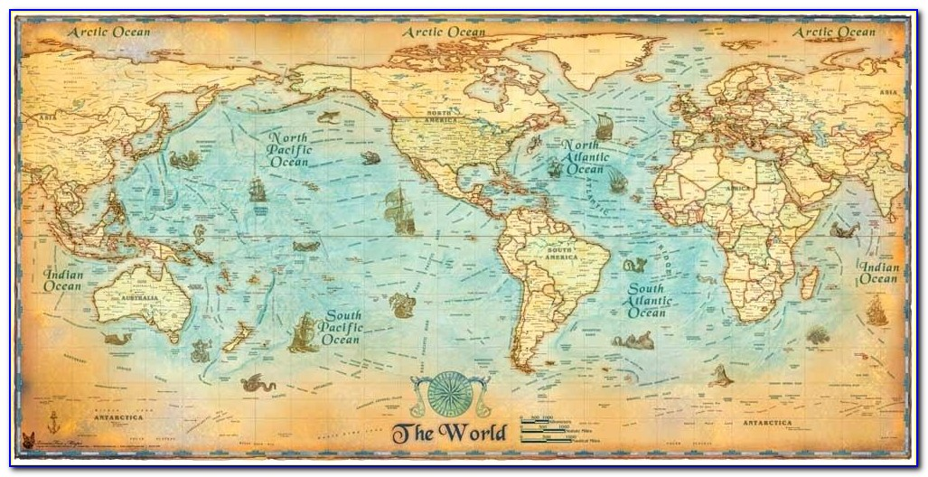 All Posters World Map