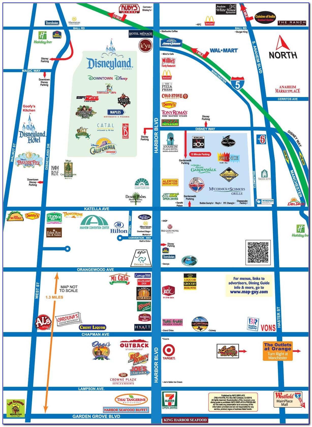 Anaheim Hotels Google Maps