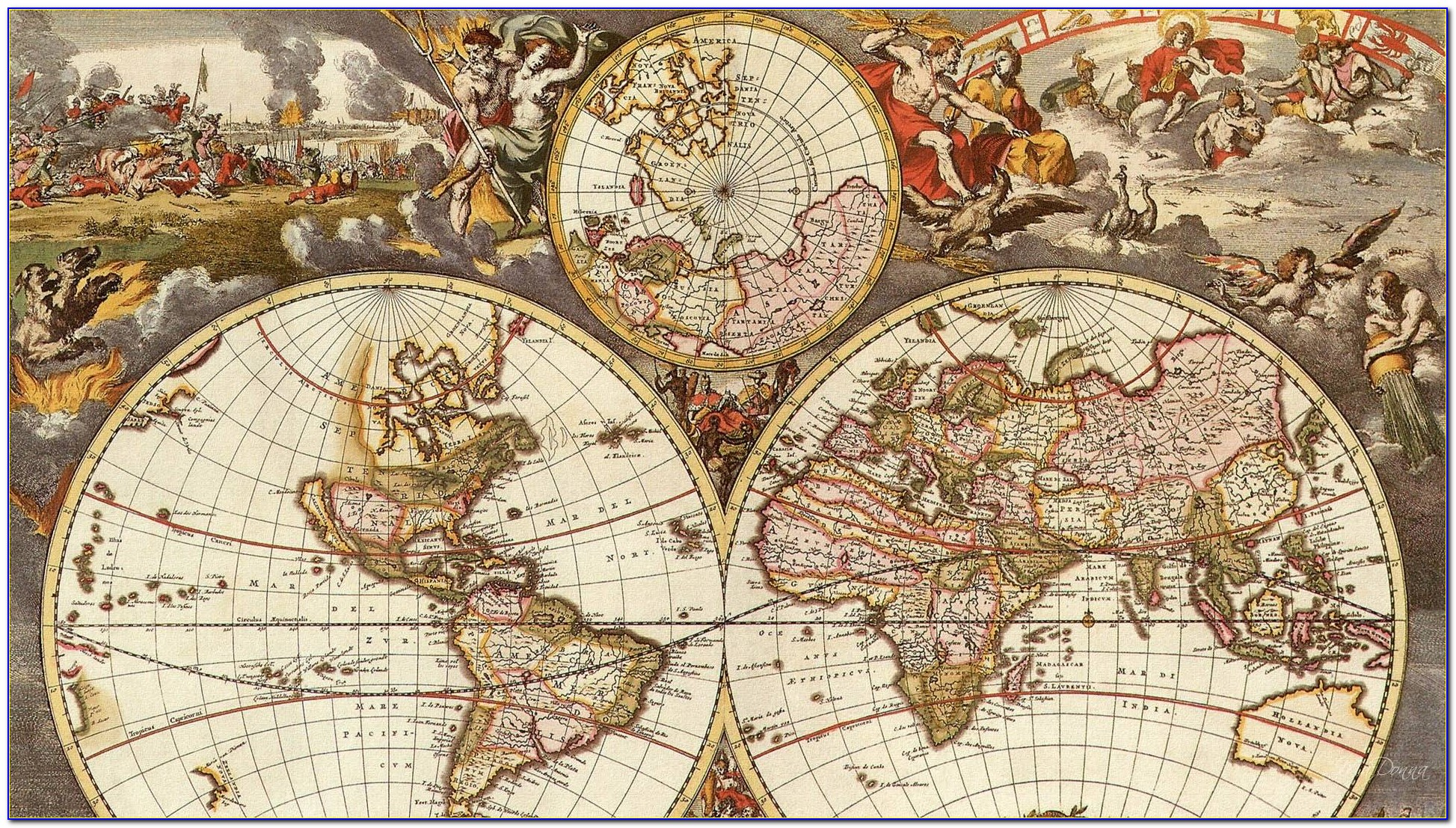 Ancient India Map Wallpaper