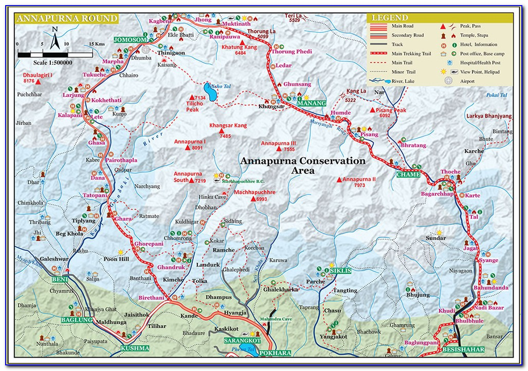 Annapurna Trekking Map And Complete Guide Pdf