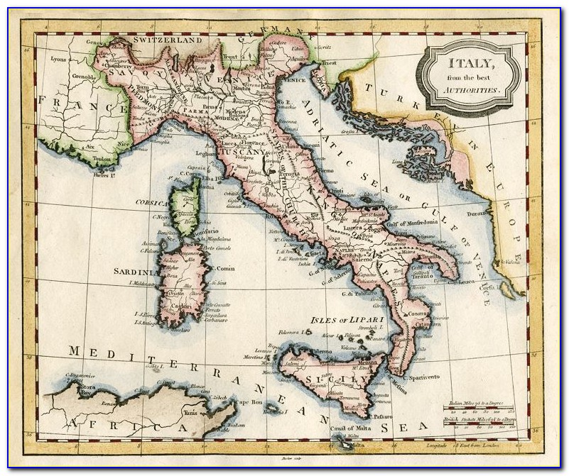 Antique Map Dealers Italy