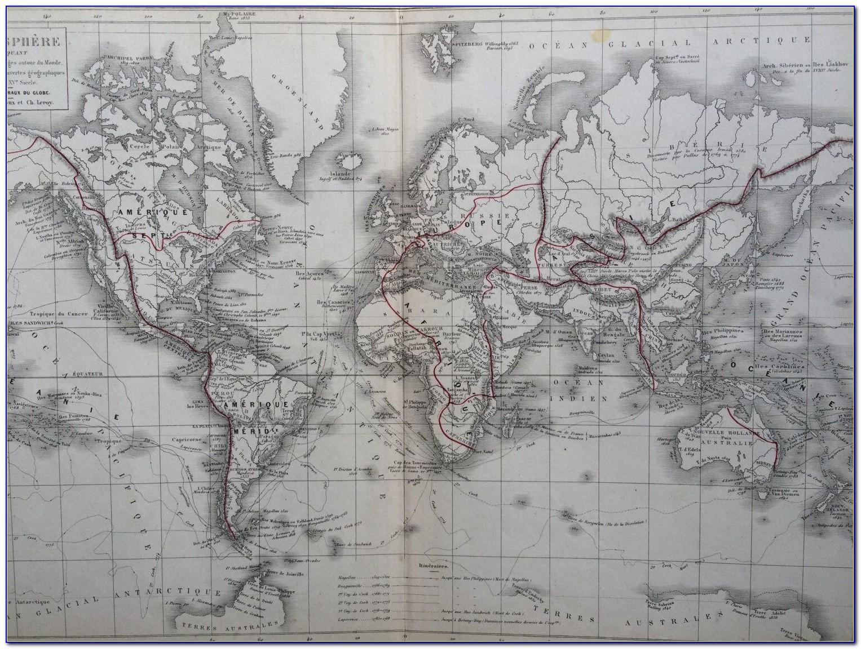 Antique Map Dealers Toronto