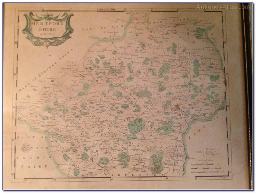 Antique Map Dealers Uk