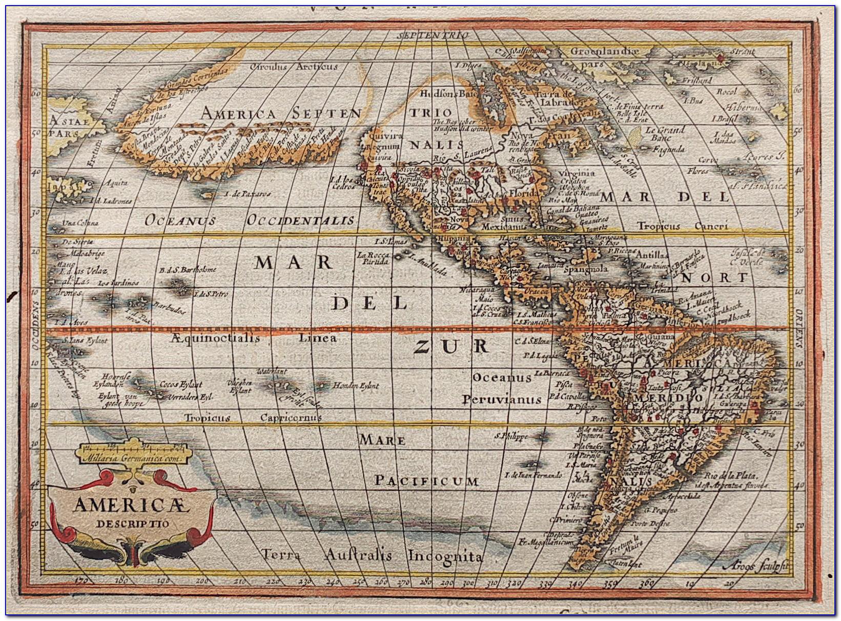 Antique Map Dealers Yorkshire