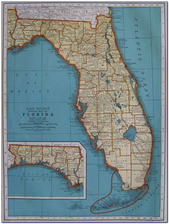 Antique Maps Florida Keys