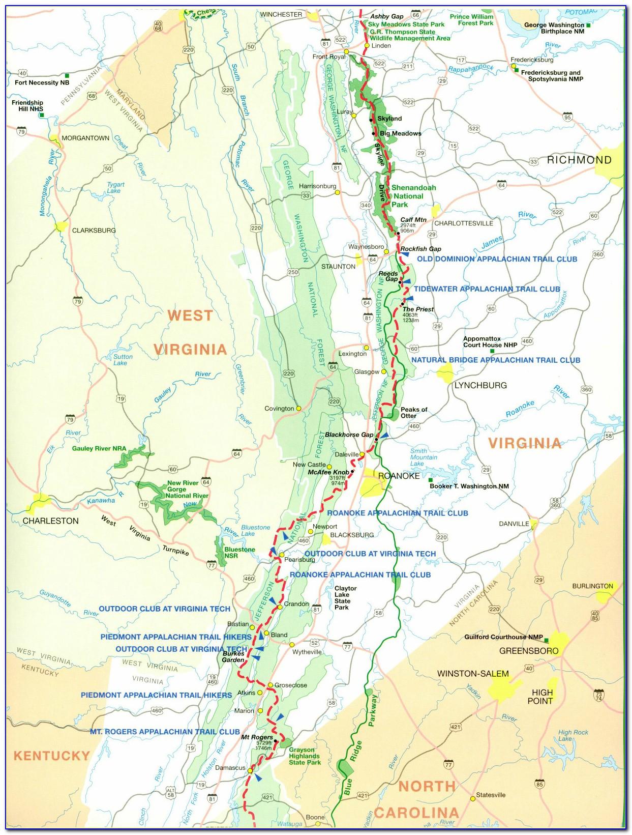 Appalachian Trail Guide Online