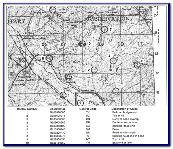 Army Land Navigation And Map Reading