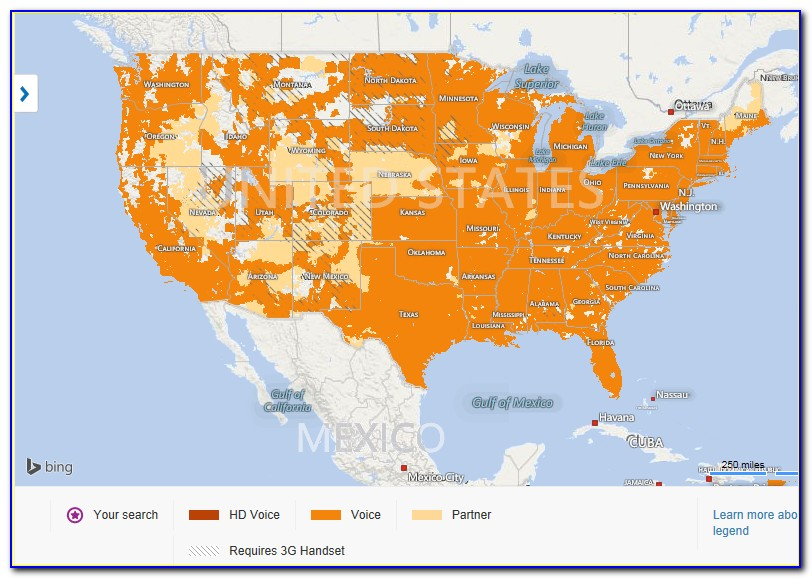 At&t Prepaid Cell Phone Coverage Map