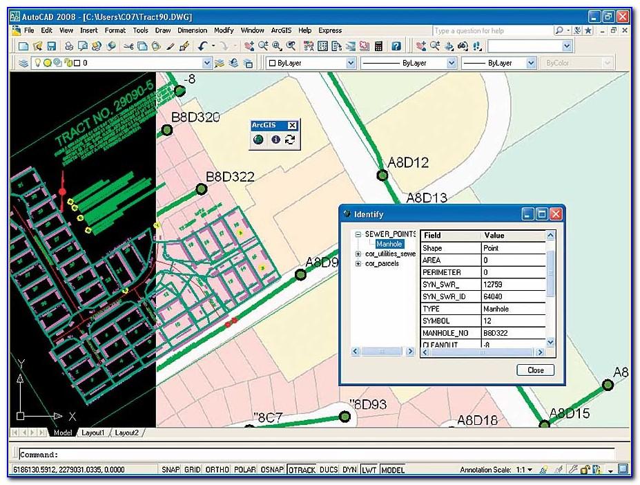 Autocad Gis Map 3d