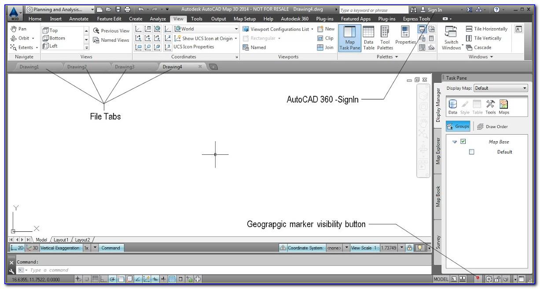Autodesk.gis.map.object Data