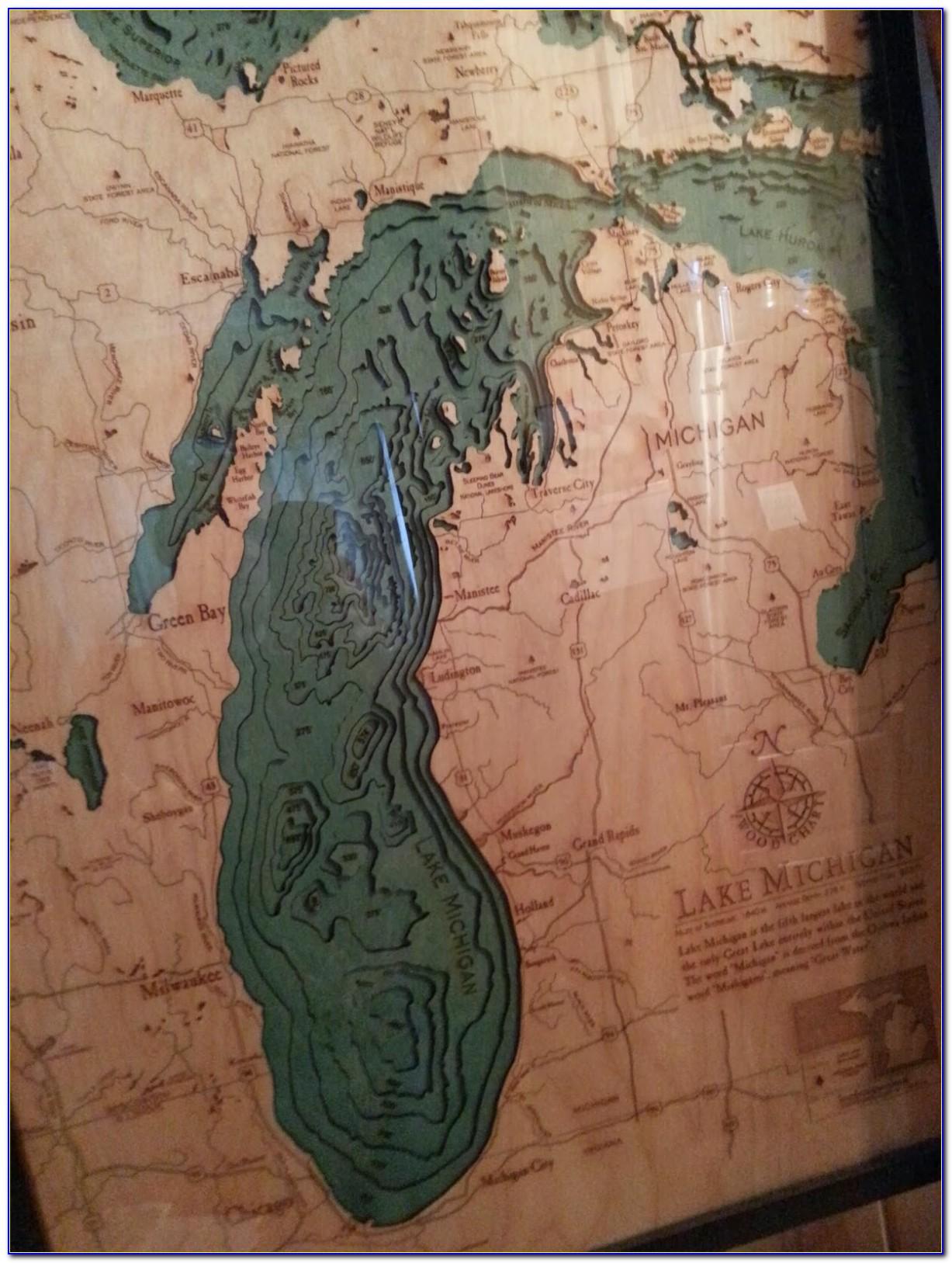 Bathymetric Map Wood