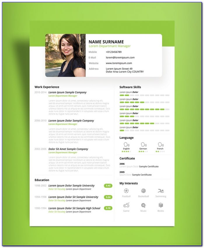 Beautiful Resume Templates Microsoft Word