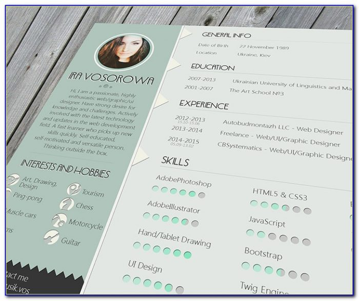 Beautiful Resume Templates Word
