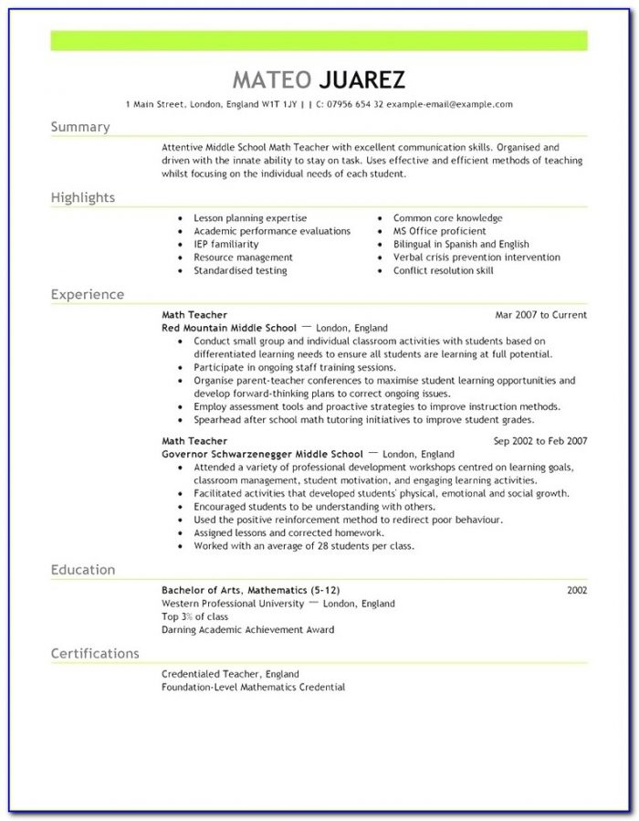 Modern Free Resume Template Australia 2018 Best Resume Templates Within Resume Template Australia 2018